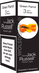 Jack Russell Liquid No 18 Green Parrot