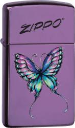 Zippo 60003325 #28124 Colorful Butterfly