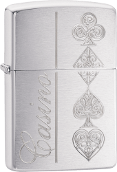 Zippo 60003355 #200 Poker Card Suits