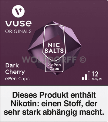 Vuse ePen Caps Nic Salts Dark Cherry 2er