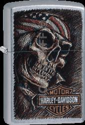 Zippo 60003488 #207 Harley-Davidson® Skull