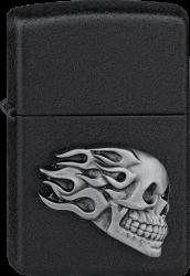 Zippo 2005364 #236 Space Flame Skull