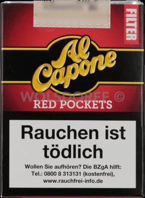 Al Capone Pockets Red Filter 18er