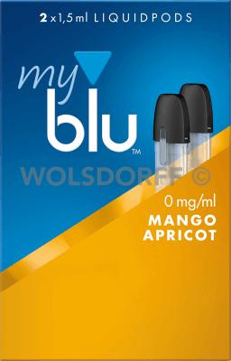 myblu Liquidpod Mango Apricot