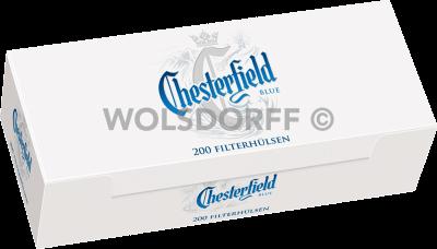 Chesterfield Blue Hülsen 5 x 200er