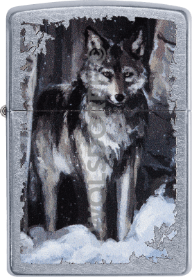 Zippo 60003992 #207 Wolf in forest