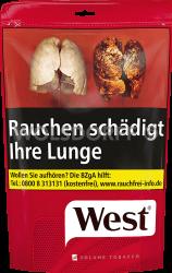 West Red Volume Tobacco Zip Bag 134 g