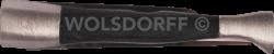 Pfeifenmesser Edelstahl/Holz 3tlg. ebony