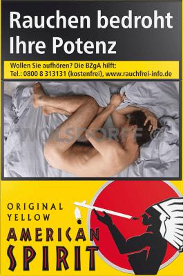 American Spirit Yellow Big Pack L (10 x 21)