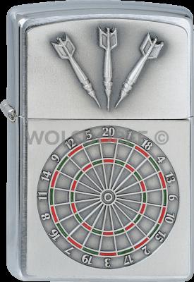 Zippo 1300091 #200 Dartboard Emblem