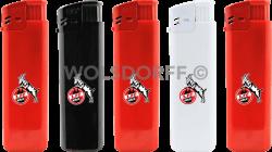 Einwegfeuerzeuge Prestige 1. FC Köln Logo
