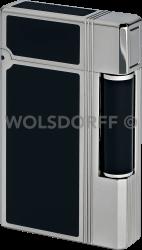 Davidoff Feuerzeug Prestige C01 Lack schwarz Palladium