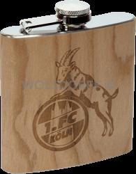 Taschenflasche Holz 1. FC Köln