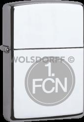 Zippo Chrom poliert 1 .FC Nürnberg