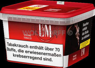 L&M Volume Tobacco Red Mega Box 185 g