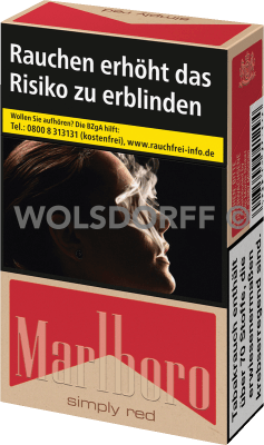 Marlboro Simply Red Original Pack (10 x 20)