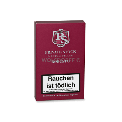 Private Stock Medium Filler Robusto