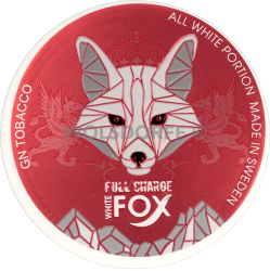 White Fox Full Charge Large, All White Portion