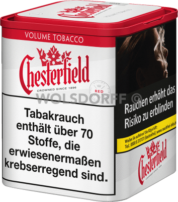 Chesterfield Red Volume Tobacco M Dose 50 g