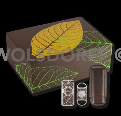 Zino Graphic Leaf Set 4-teilig