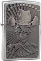 Zippo 2001982 Cowboy Skull