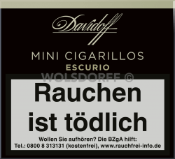 Davidoff Mini Cigarillo Escurio 20er