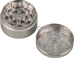 Metall-Grinder transparent