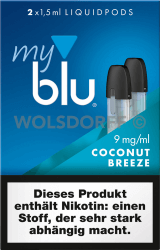 myblu Liquidpod Coconut Breeze