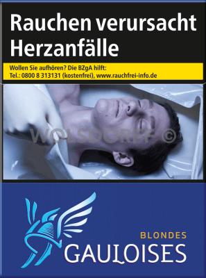 Gauloises Blondes Blau (8 x 22)
