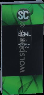 SC ECML 0,75 Ohm Heads 5er