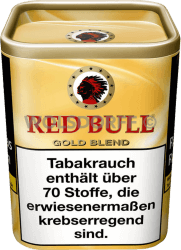 Red Bull Gold Blend Tin Dose 120 g