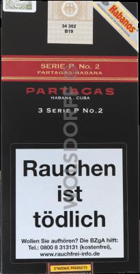 Partagas Serie P No. 2 Tubos