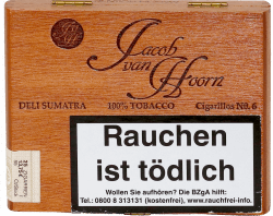 Jacob van Hoorn Cigarillos No.6 Sumatra