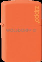 Zippo 60001268 #231ZL Orange Zippo® Logo