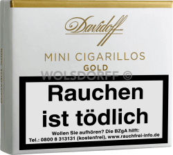 Davidoff Mini Cigarillos Gold 10er