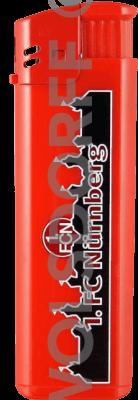 Einwegfeuerzeuge 1.FC Nürnberg
