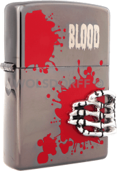 Zippo Blood Skull Hand (Japan Import)