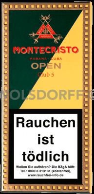 Montecristo Open Club Zigarillos