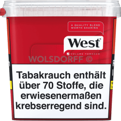West Red Volume Tobacco Mega Box 280 g