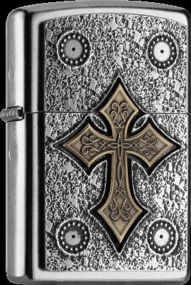 Zippo 2004752 #207 Gothic Cross