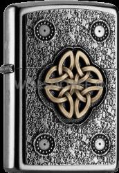 Zippo 2004750 #207 Celtic Knot Emblem