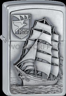 Zippo 1300177 #200 Gorch Fock Emblem