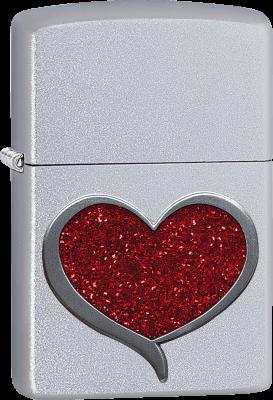 Zippo 60003259 #205 Glitter Heart