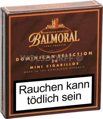 Balmoral Dominican Selection Mini Cigarillos 20er