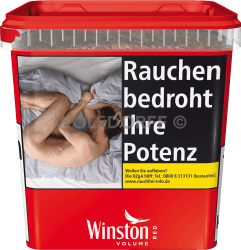 Winston Volume Tobacco Red Box 280 g