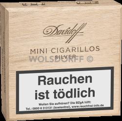 Davidoff Mini Cigarillos Silver 50er