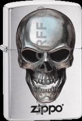 Zippo 60003324 #200 Metal Skull