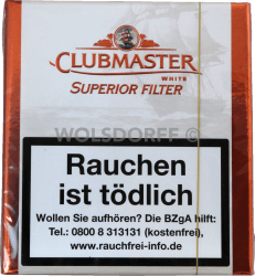 Clubmaster Superior Filter White 20er