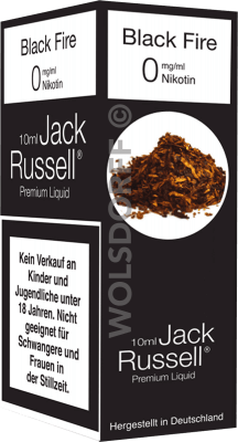 Jack Russell Liquid No 1 Black Fire