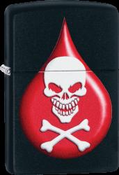 Zippo 60004109 #218 Death Drop Design